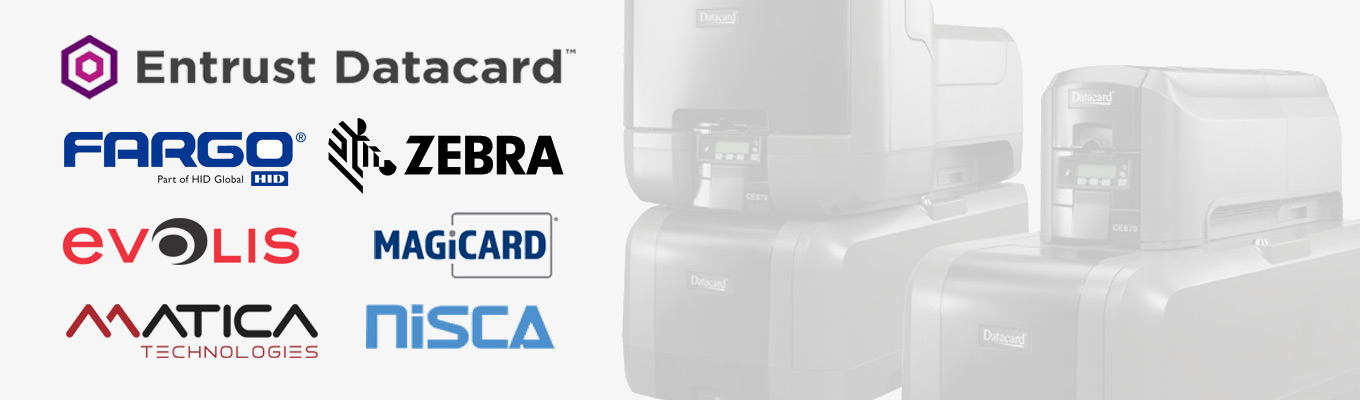Major ID Card Printer Brands